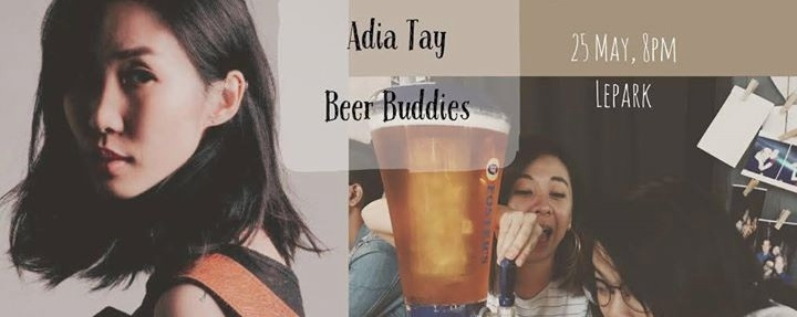 樂(約)在 Lepark: Adia Tay + Beer Buddies