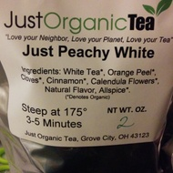 Just Peachy White from Just Organic Tea