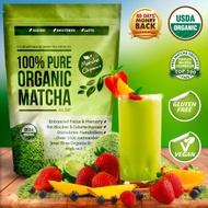 100% Pure Organic Matcha from Matcha Organics