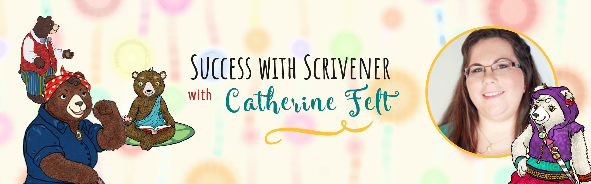 Success with Scrivener with Cathrine Felt at the Children's Book Academy