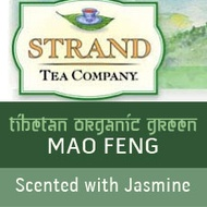 Tibetan Organic Green Mao Feng Leaf Scented with Jasmine from Strand Tea Company