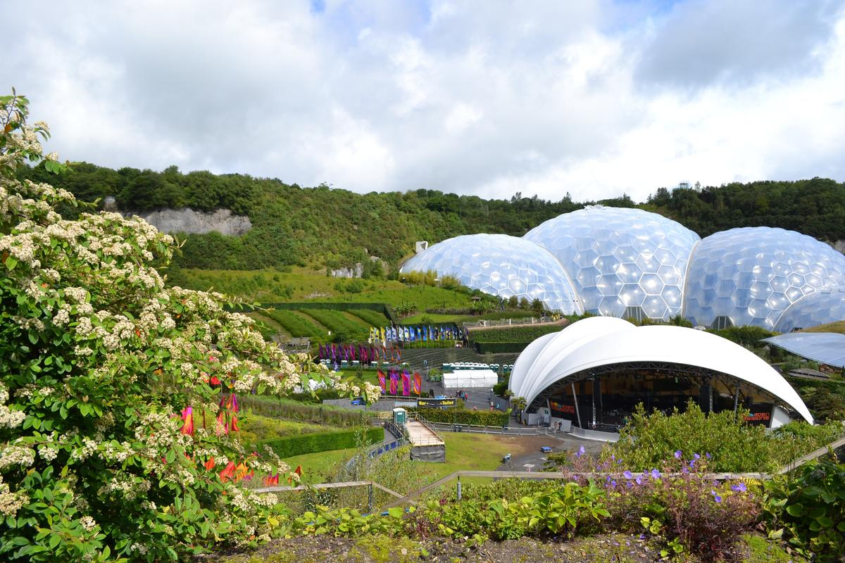 Cornwall: The Eden Project and Sundown in Charlestown