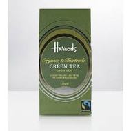 Food Halls Collection Organic & Fairtrade Green Tea from Harrods