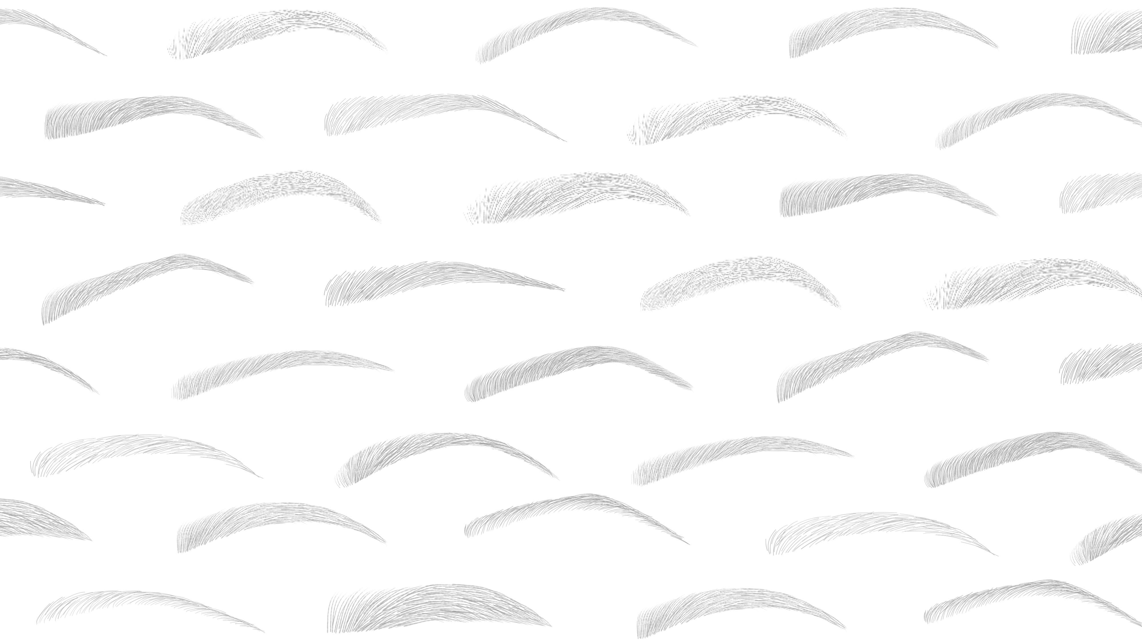 needles, hair, strokes, eyebrows, microblading
