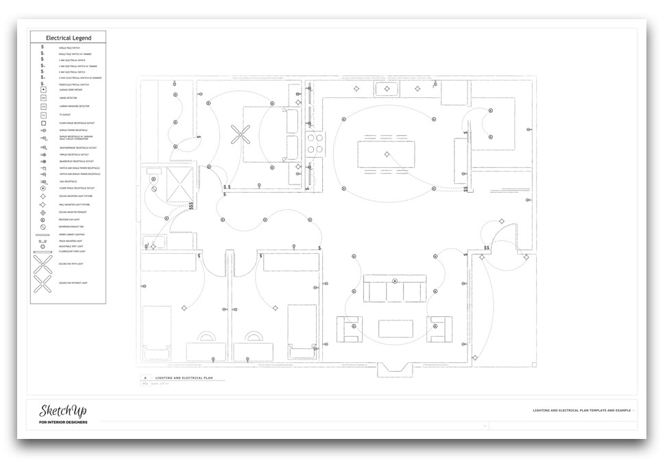 lighting plan template and instructions