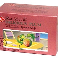 Delicious Plum Spice Tea from Uncle Lee's Tea