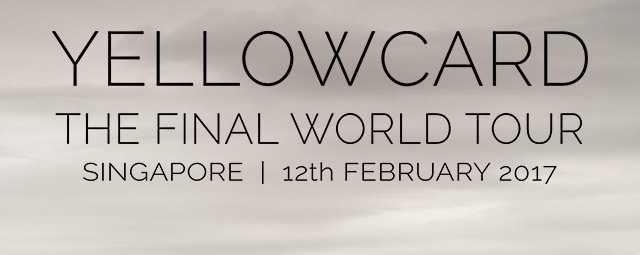 Yellowcard - The Final World Tour