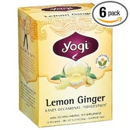 Lemon Ginger from Yogi Tea