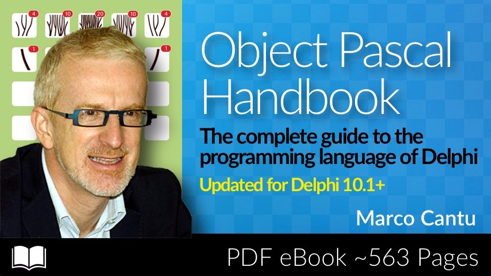 Object Pascal Handbook by Marco Cantu | Embarcadero Academy