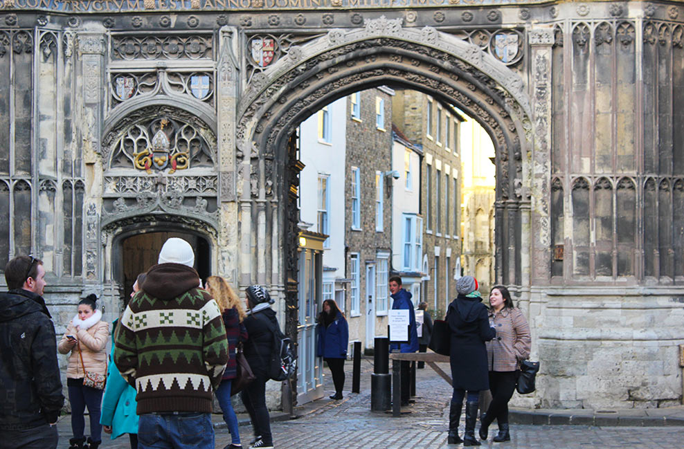 A DAY IN CANTERBURY