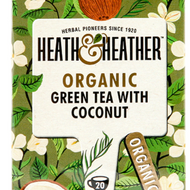 Organic Green Tea with Coconut from Heath and Heather