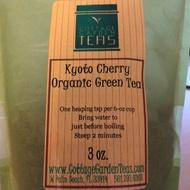 Kyoto Cherry Organic Green Tea from Cottage Garden Teas