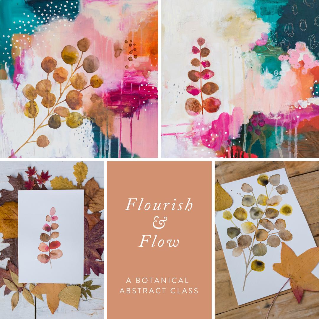 Flourish And Flow Laura Horn Art