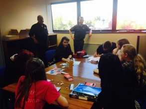 Salop open their doors to the students of Meole Brace Science College, Shrewsbury