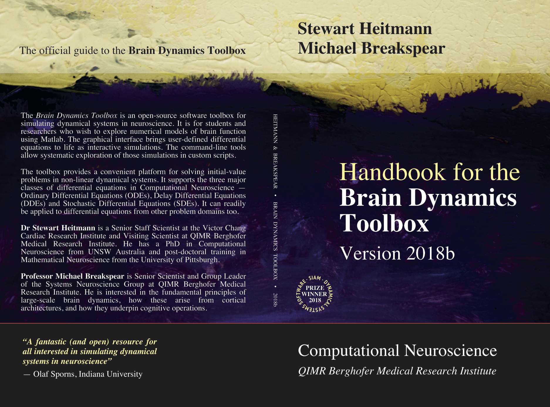 Handbook for the Brain Dynamics Toolbox