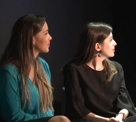 Ana C. Terrazzan, Mariana Brito e Cristina Targa