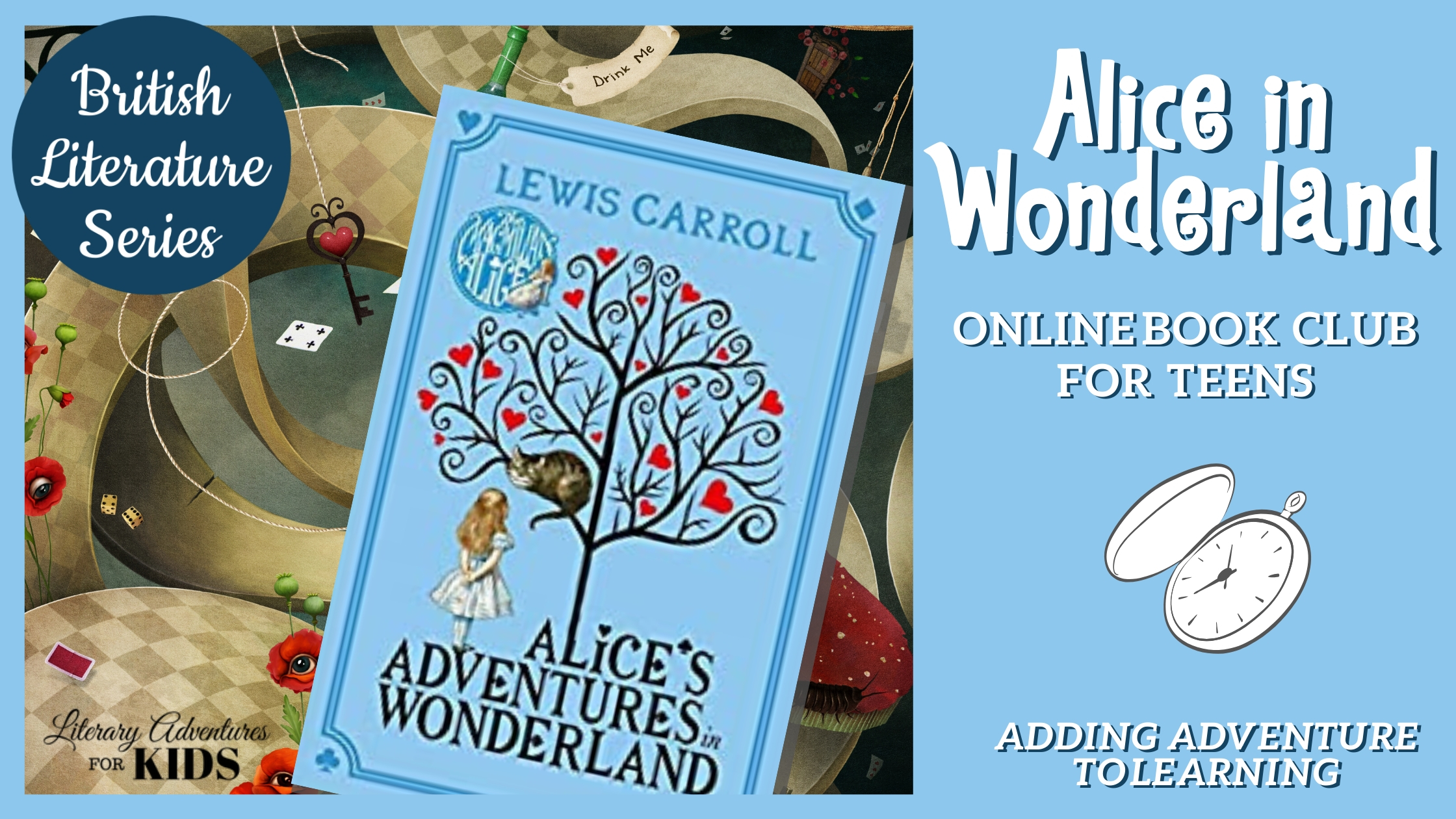 Alice in Wonderland Online Book Club