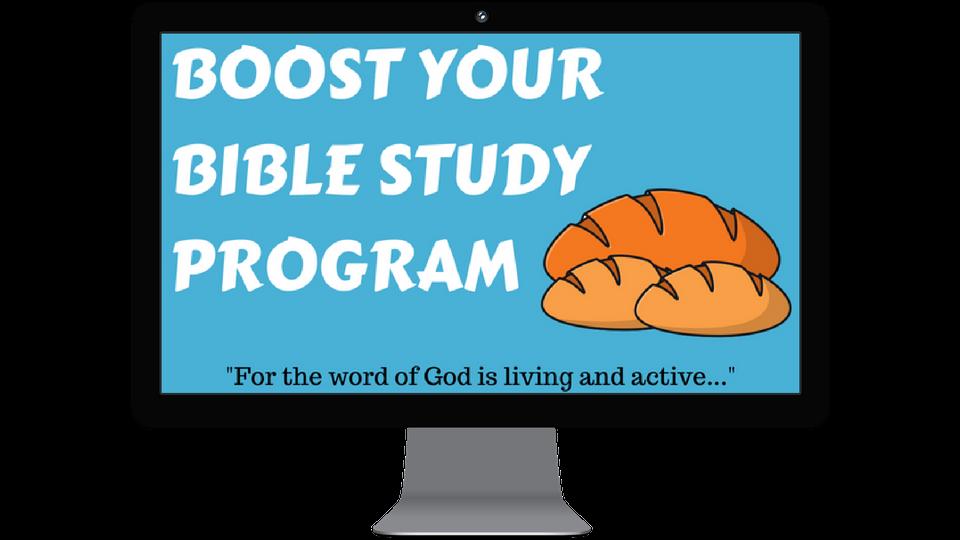 David Teague Jr – The Boost Your Bible Study Program