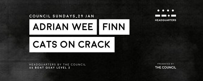 Council Sundays with Adrian Wee, FINN & Cats On Crack