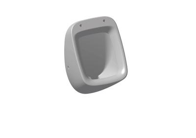 White Urinal