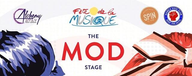 Fete dela Musique: The Mod Stage