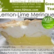 Lemon-Lime Meringue Kukicha from 52teas