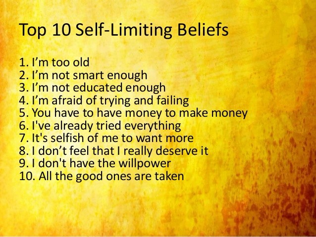 self belief essay