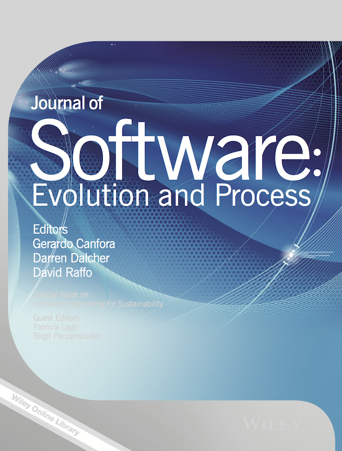 Template for submissions to Journal of Software: Evolution and Process