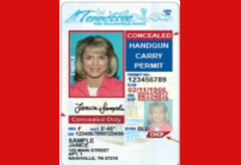 Tennessee Concealed Carry Permit