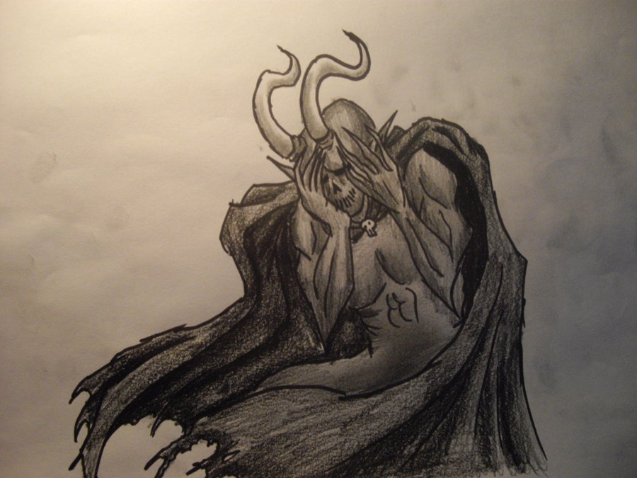 Демон который плачет картинки