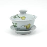 Gourd Vine Gray Geyao Gaiwan from teaware.house