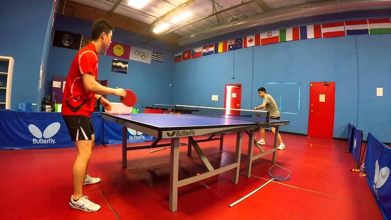 table tennis training for beginners. Black Bedroom Furniture Sets. Home Design Ideas