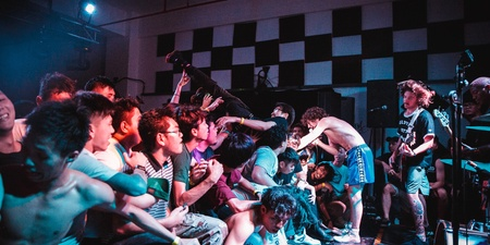Turnstile tear up Decline at their sold-out debut show in Singapore – gig report