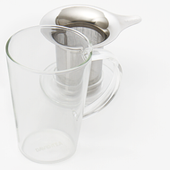 The Perfect Tea Mug, 12 oz (Glass) from DAVIDsTEA