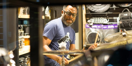 Legendary drummer Nate Smith constantly keeps his ear out for new music