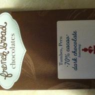 Lapsang Souchong & Sea Salt dark chocolate bar from Dobra Tea - French Broad Chocolates