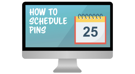 schedule pinterest pins