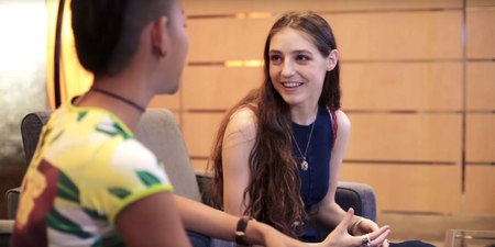 WATCH: Birdy talks about her love for Snapchat, getting nervous on stage and more