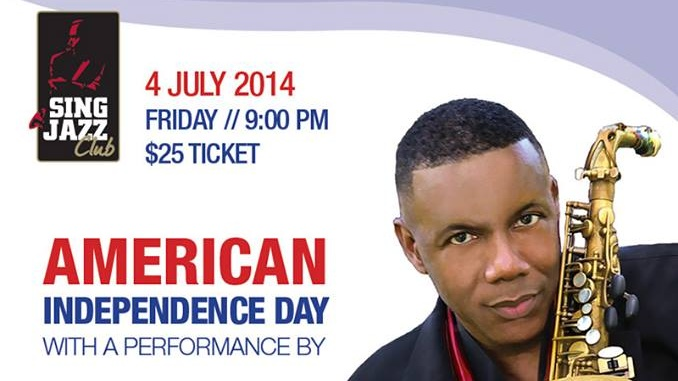 AMERICAN INDEPENDENCE DAY WITH JOHNNY JAMES