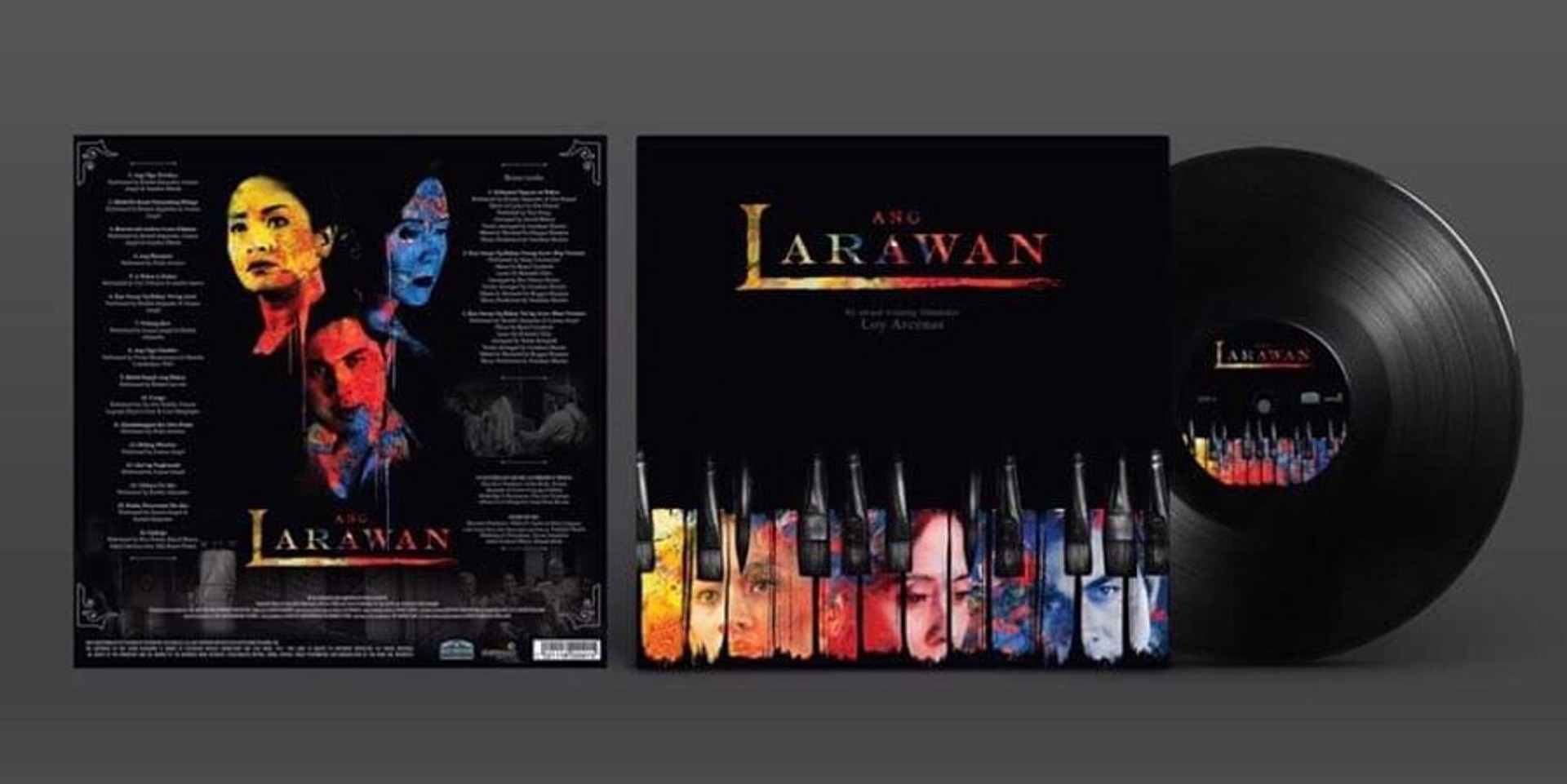 Ang Larawan Original Soundtrack released on limited edition vinyl