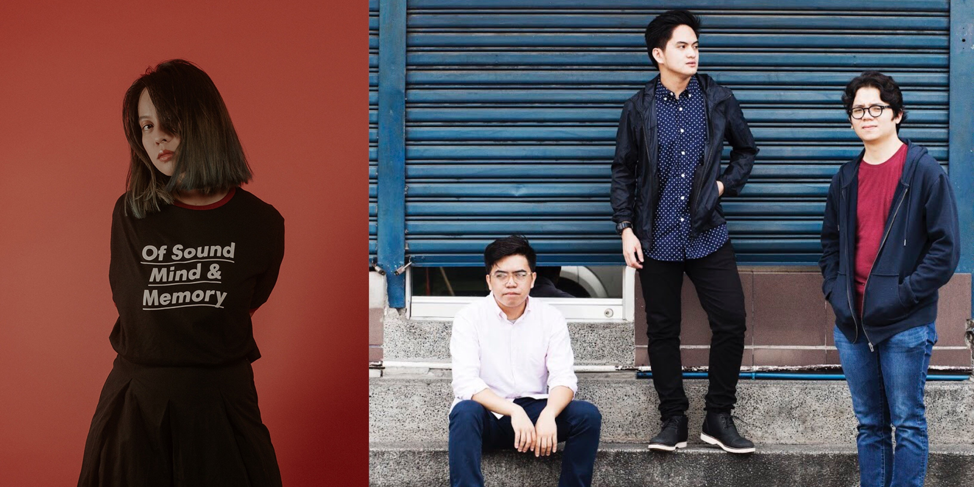 Reese Lansangan and Tom's Story to perform in a back-to-back concert for Karpos Live