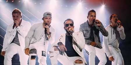 Backstreet Boys are back with new single 'Don't Go Breaking My Heart' – watch