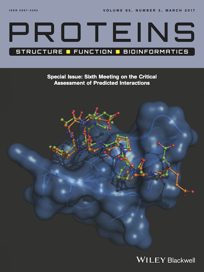 Template for submissions to PROTEINS: Structure, Function, and Bioinformatics