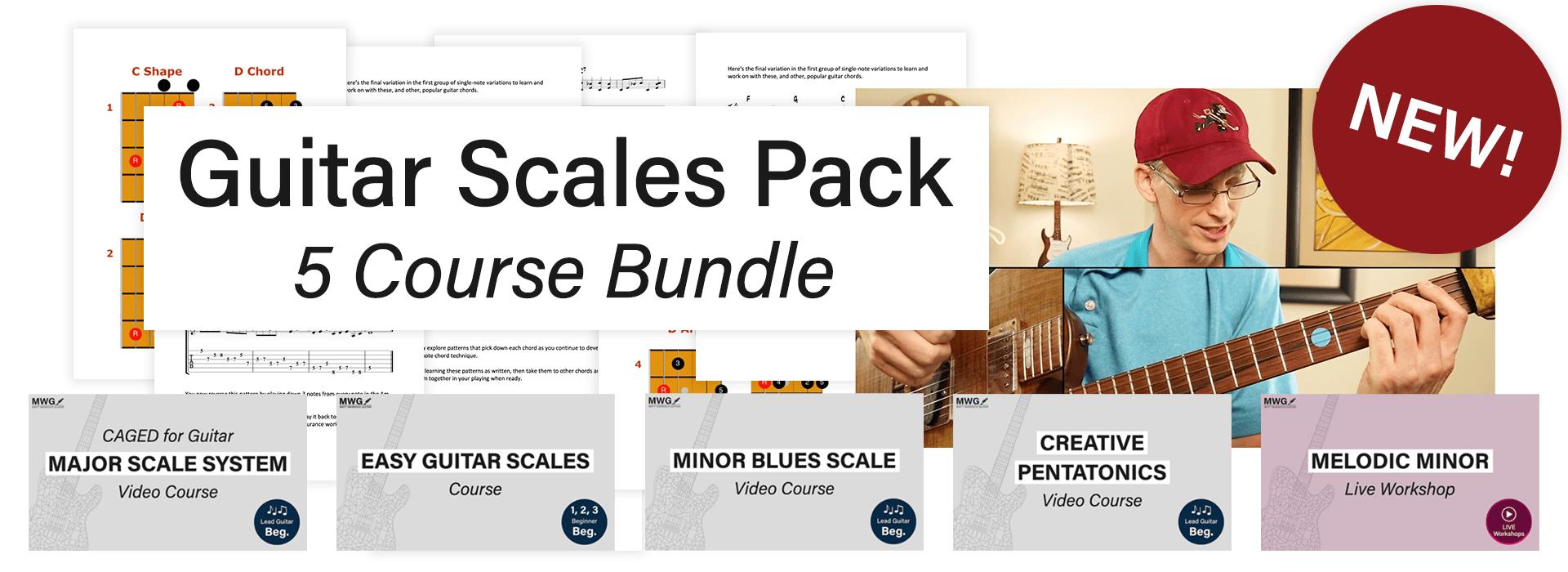 guitar scales pack