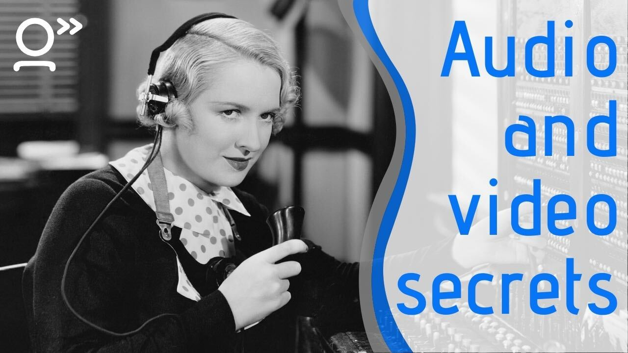 Audio and video secrets for great remote meetings