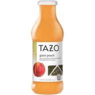 Giant peach (iced tea) from Tazo