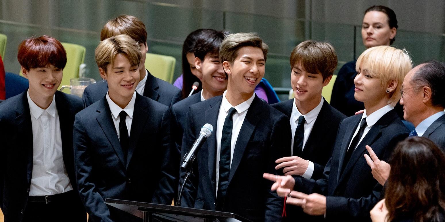 K-Pop group BTS delivers emotional United Nations General Assembly speech