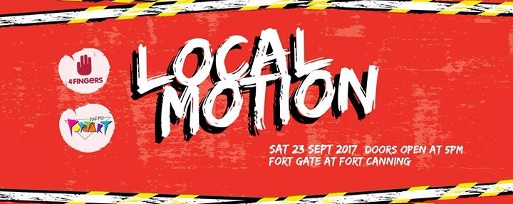 Local Motion presented by 4Fingers and Eatmepoptart