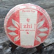 Zhi Tea 2013 Raw Pu'erh Cake from Zhi Tea