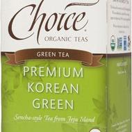 Premium Korean Green from Choice Organic Teas